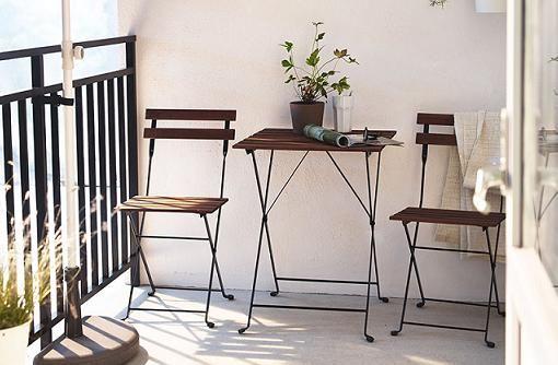 Sillas Y Mesas De Jardin Ikea Tarno Muebles Para Balcon