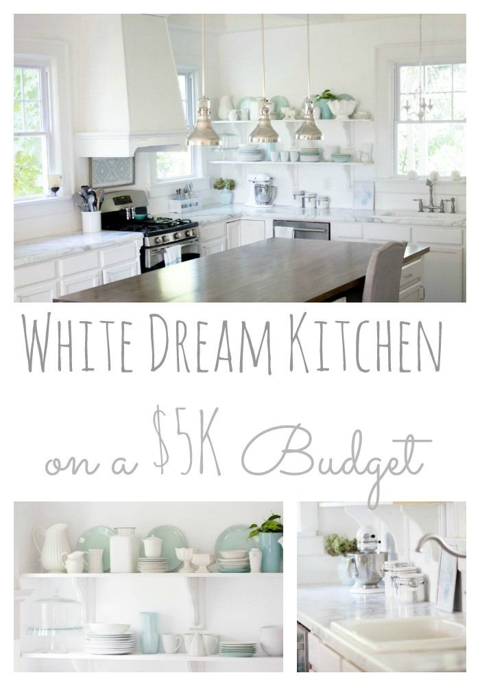 The Almost Unbelievable Total Kitchen Renovation For 5k Makeover Makeover Via Blog Budget Kitchen Remodel Kitchen Remodel Small Diy Home Decor On A Budget