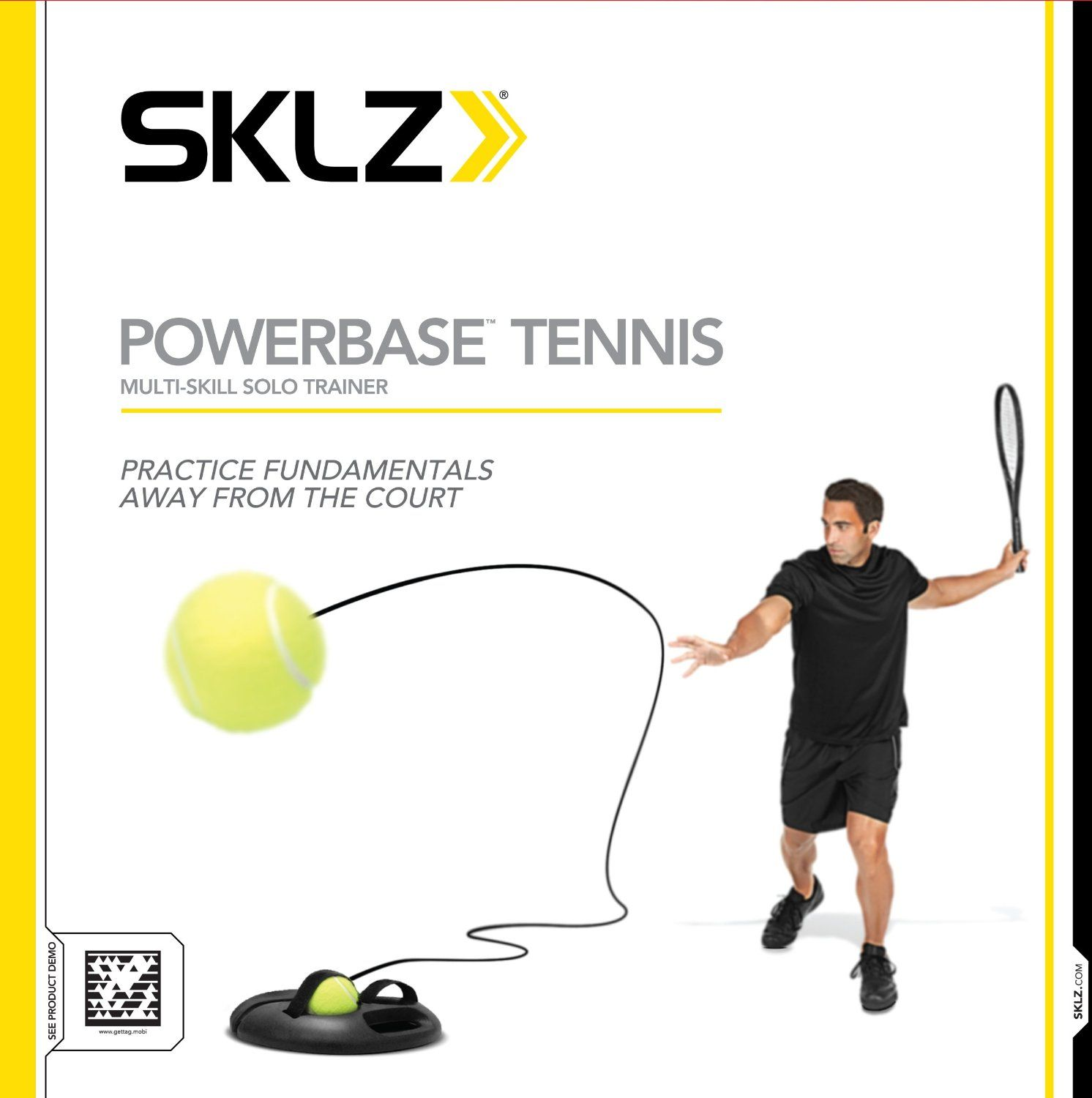 Http Pmcoup Com Tennis Powerbase Tennis Trainer Builds Quickness Hand Eye Coordination And Stamina 15 Foot Kinetic Tennis Tennis Trainer Ball Exercises