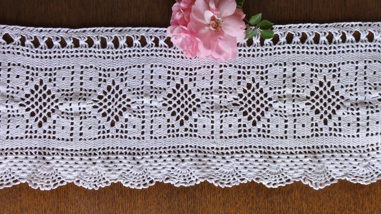 Filet Crochet Curtain Patterns Free Boatylicious