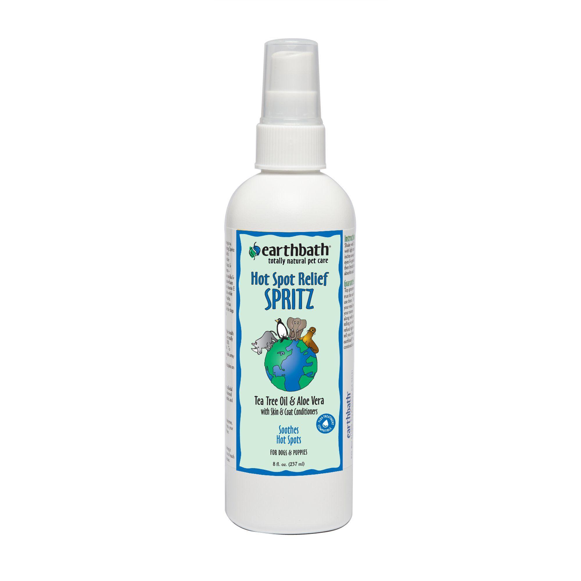 Earthbath Hot Spot Itch Relief Dog Spray Dog Spray Hot Spot