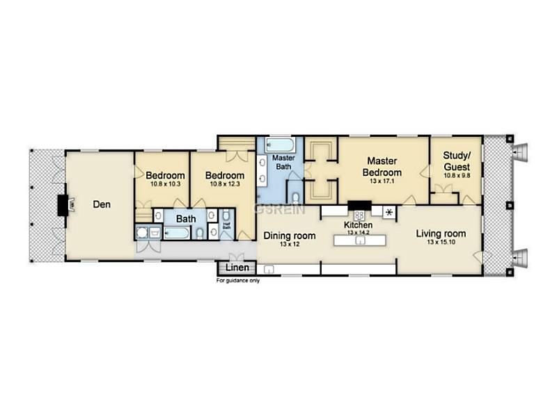 Gorgeous New Orleans Style Shotgun House Plans Floorplans NOLA Kim