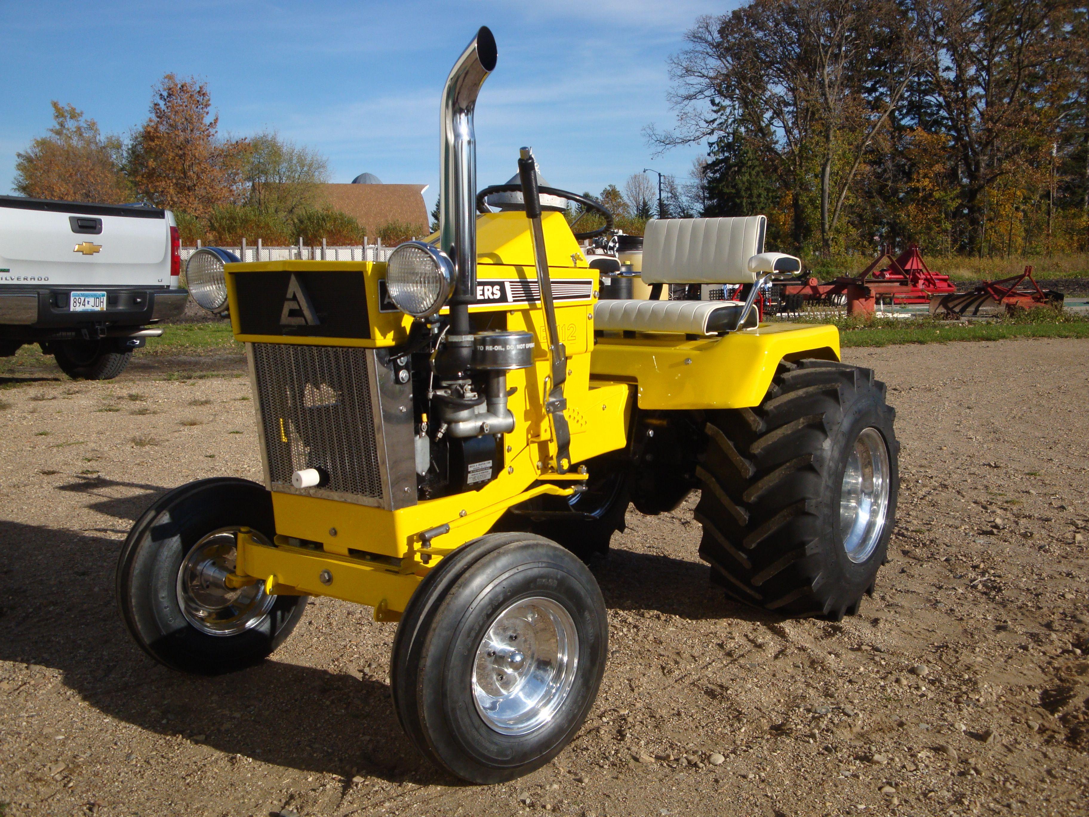 Allis chalmers b 112 garden tractor garden tractors for Lawn garden equipment