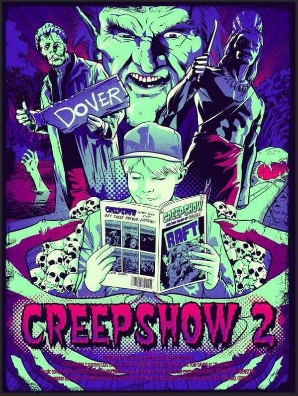 horror movie poster art creepshow 2 1987 by jennifer elm