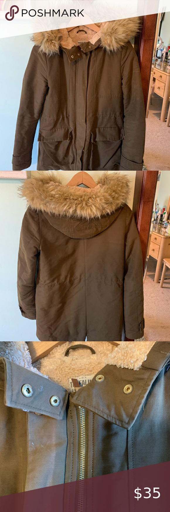 Zara Trafaluc Outerwear Collection Winter Jacket Winter Jackets Outerwear Trafaluc [ 1740 x 580 Pixel ]