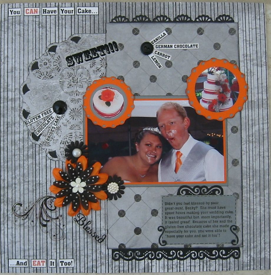 I Can Make This Too Scrapbook Pages For Your Guests To: You CAN Have Your Cake And EAT It Too!