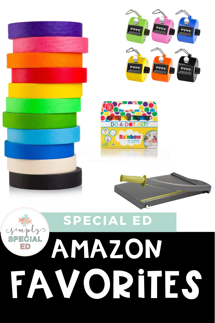 Special Education Amazon Favorites - Simply Special Ed