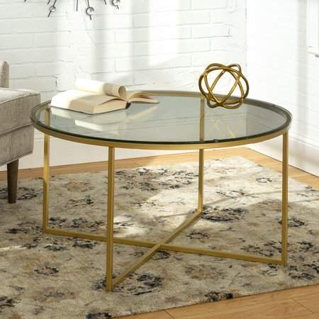 Home In 2019 Round Coffee Table Modern Round Coffee Table