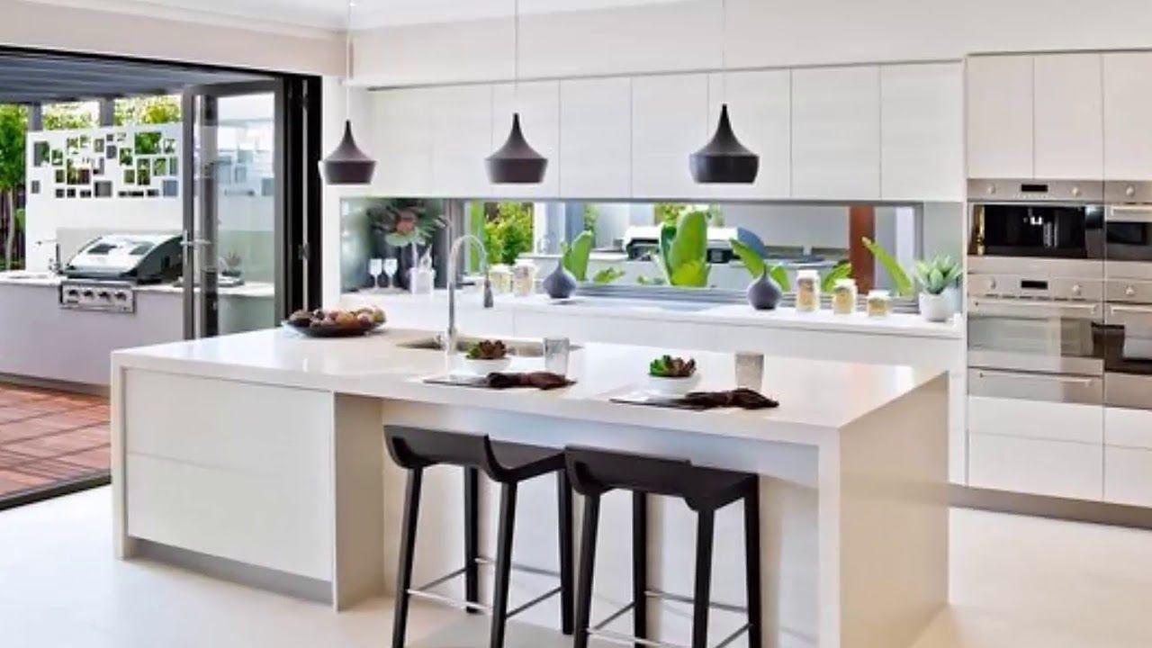 100 Ideas Hermosos Disenos De Islas Y Barras Para Cocinas Modernas