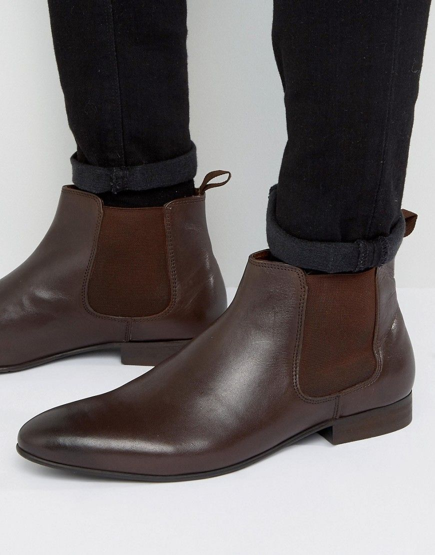 100% Original For Sale Latest Collections Cheap Online Mister Chelsea Boots In Brown Leather - Brown Dune London Manchester Great Sale Cheap Price 2018 Newest Sale Online BScJ912VXP