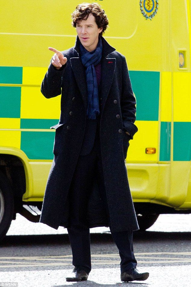 A more fearful adversary than Moriarty? Derren Brown seen on Sherlock Holmes set hypnotising Martin Freemans Dr. Watson