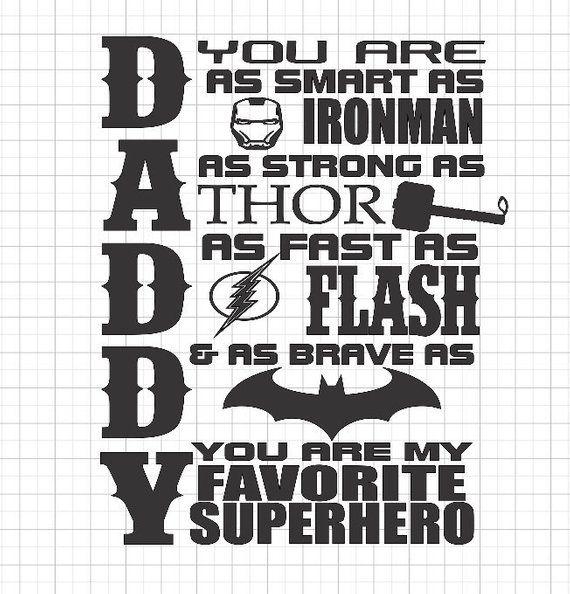 f145a6441 SVG Only, Daddy Superhero SVG, Superhero Daddy SVG, Fathers Day Svg,  Superhero Svg, You are my hero