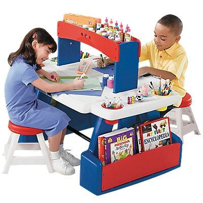 Step 2 Creative Projects Table, Kids Art Desk, Art Table | 儿童房 ...