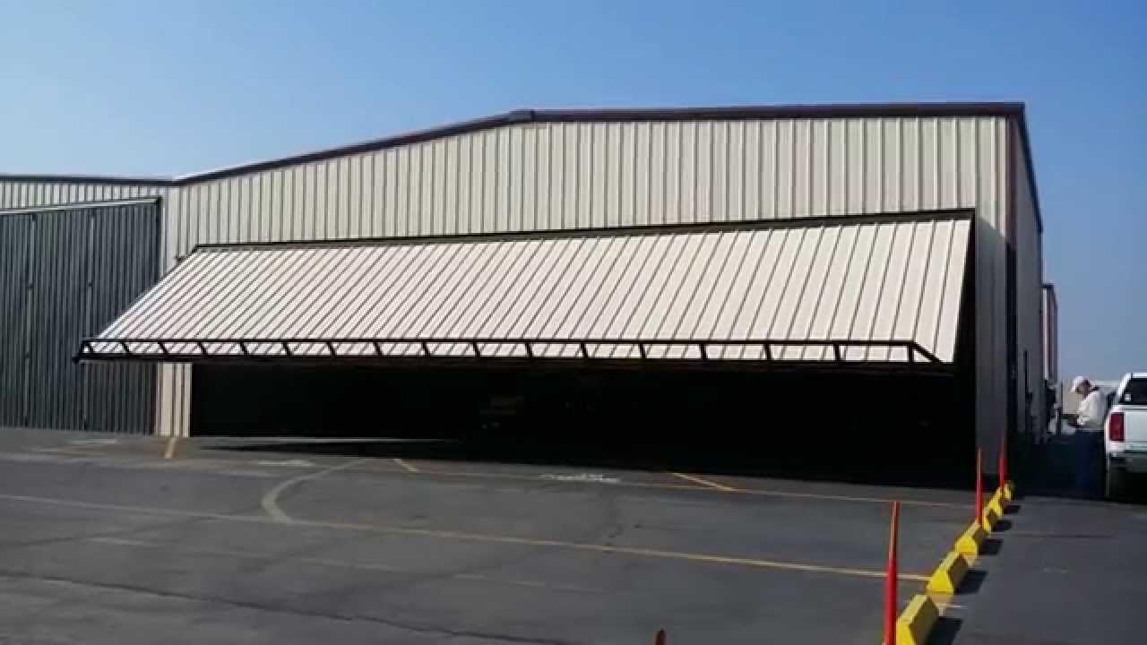 PowerLift Hydraulic Doors of California Hangar Door! | Aircraft ...