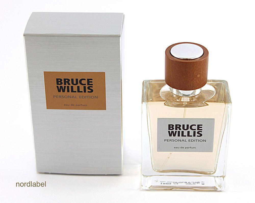 LR Bruce Willis Personal Edition Eau de Parfum Man 50ml NEU