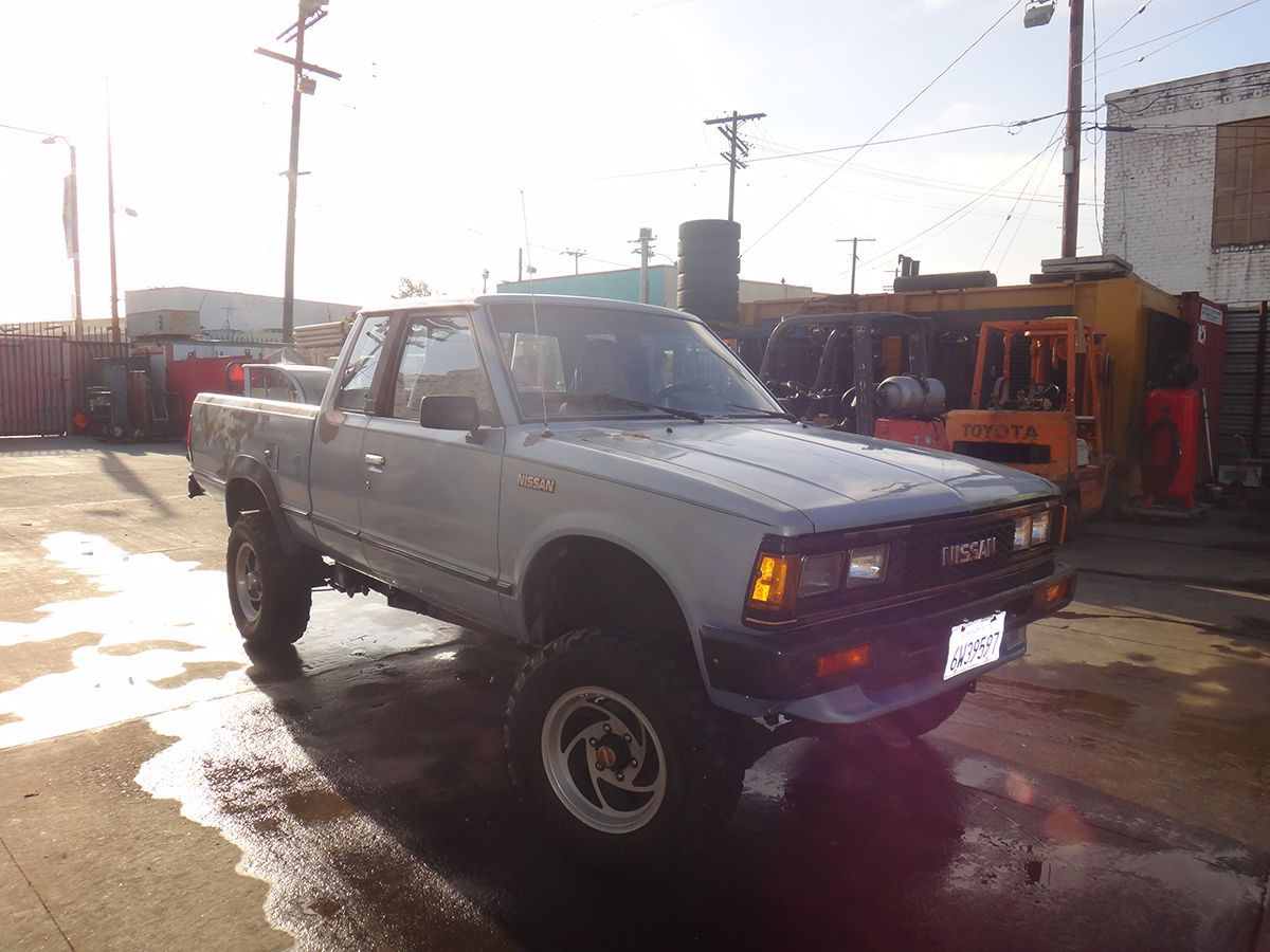 85 nissan king cab pick up 4x4 ebay