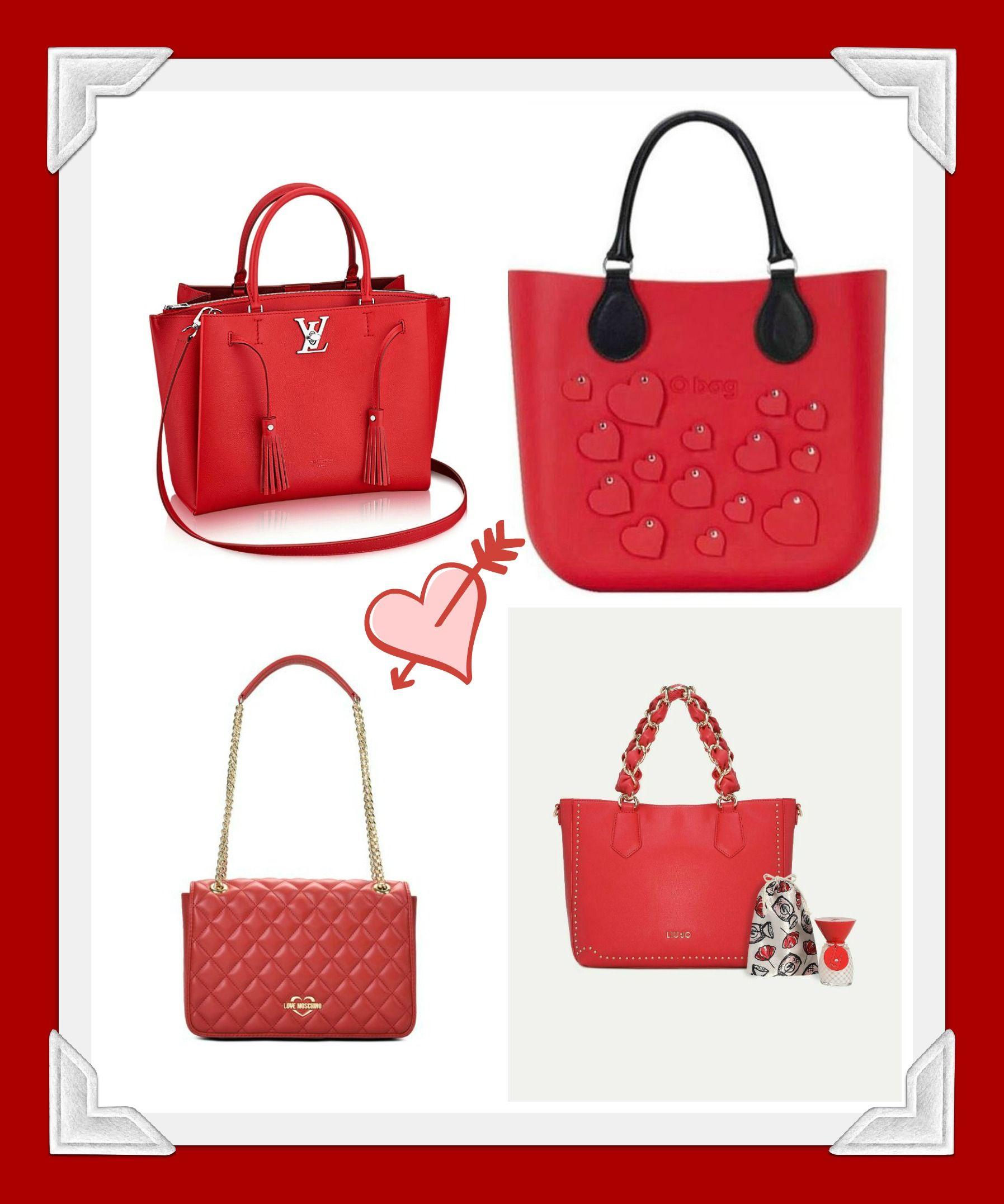 96deb625de Borse Rosse Idea Regalo San Valentino 2018 - Lei Trendy | handbag in ...