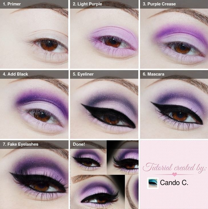 #purple #makeup #beauty