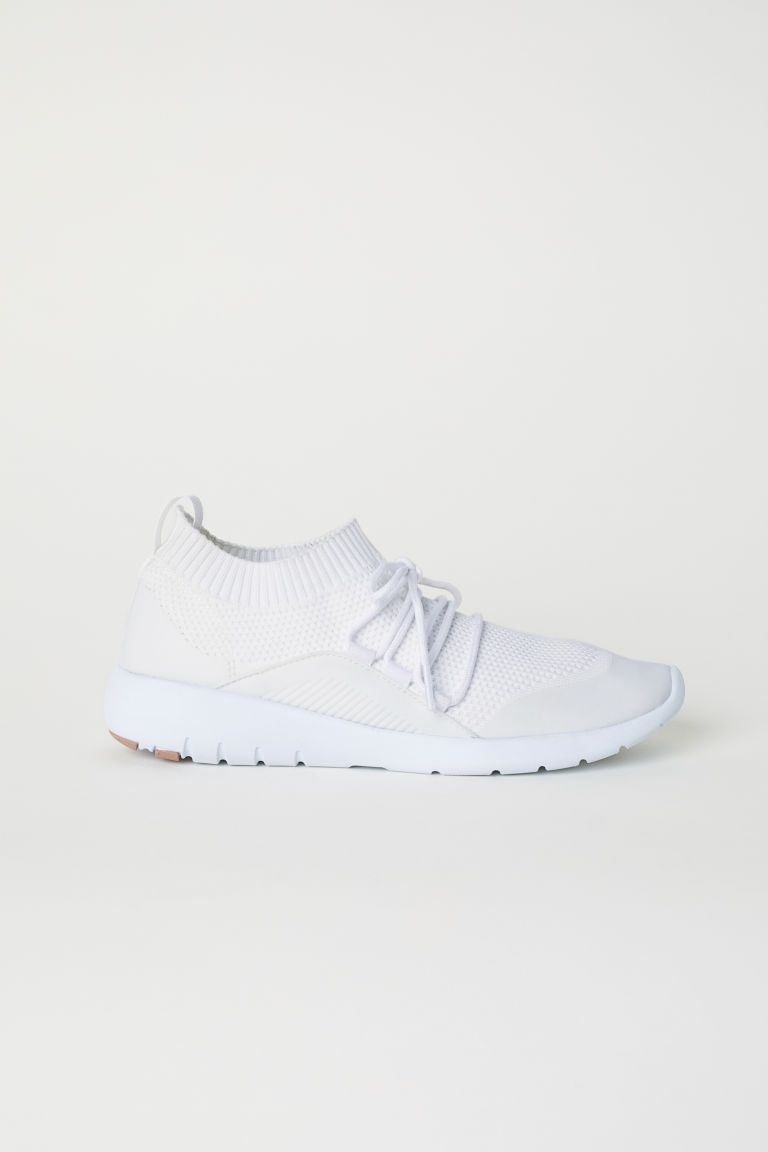 4a4514d11fe Fully-fashioned Sneakers - White - Ladies