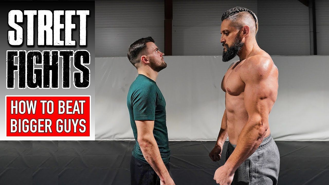 How to fight beat bigger guys street fight survival