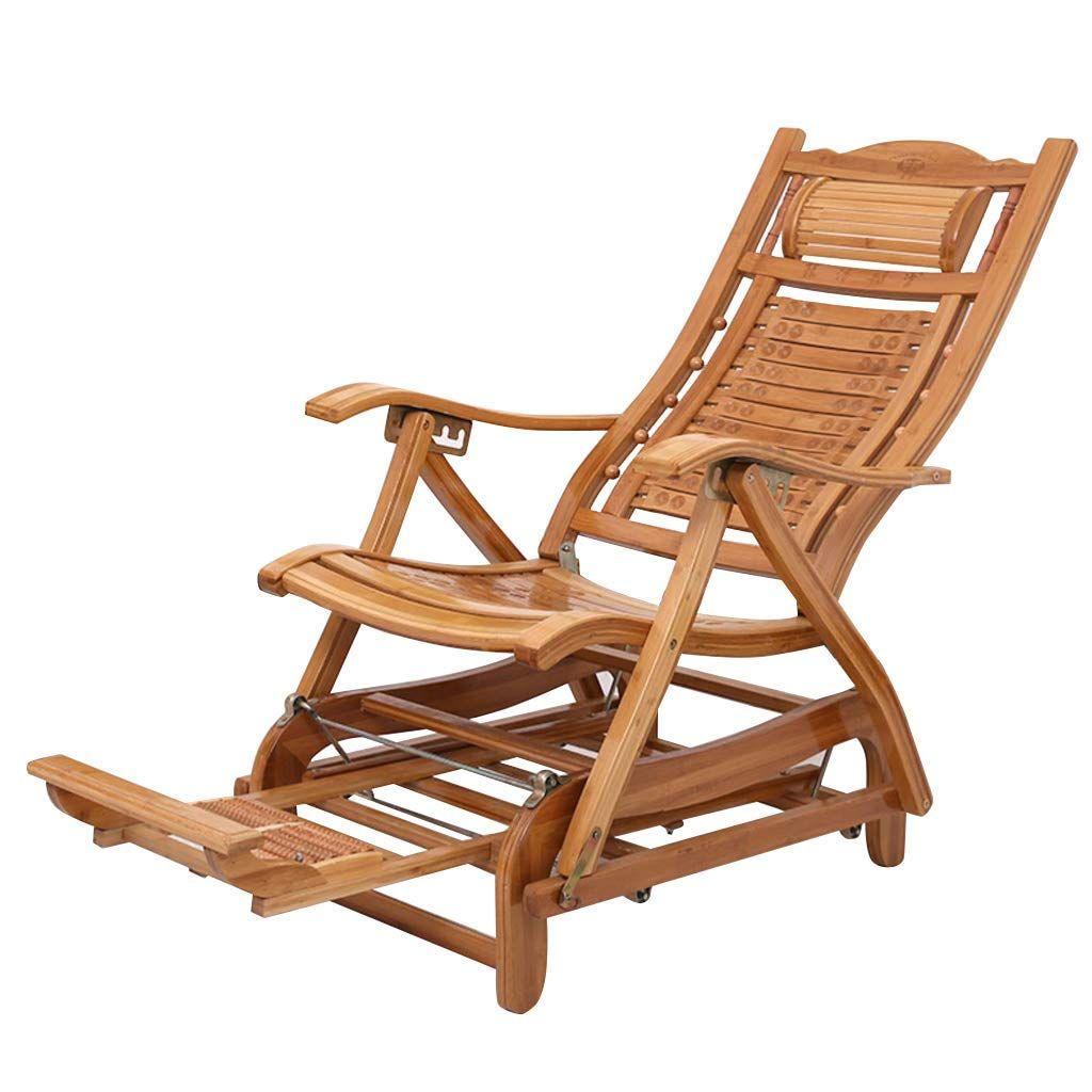 Sun Lounger Wooden Waterproof Outdoor Steamer Chair Deck Chair Recliner For Garden Patio Pool Comfortable Relax Reclining Sunb In 2020 Chair Deck Chairs Chair Cushions