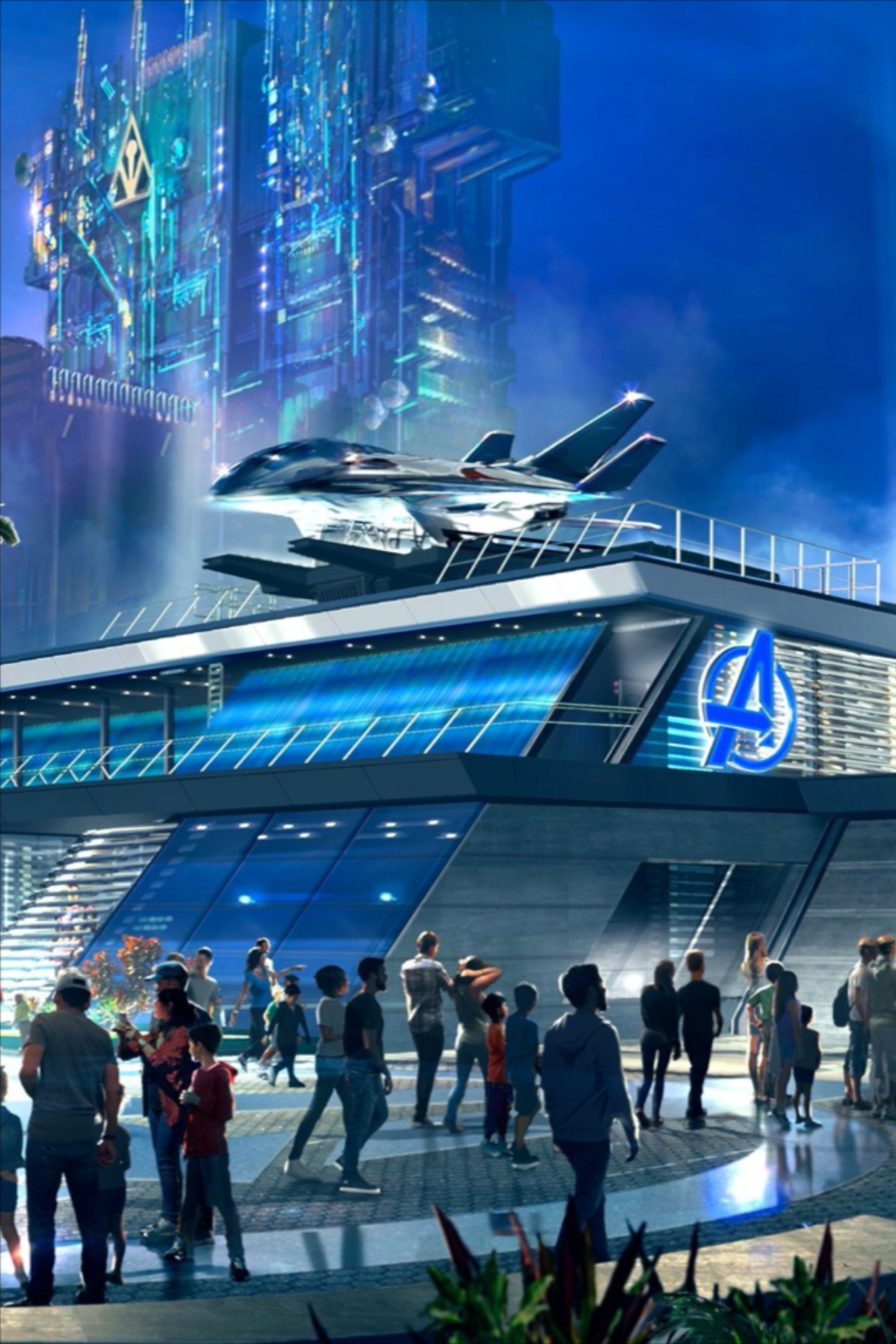 Avengers Campus Opening Set for Disney California ...