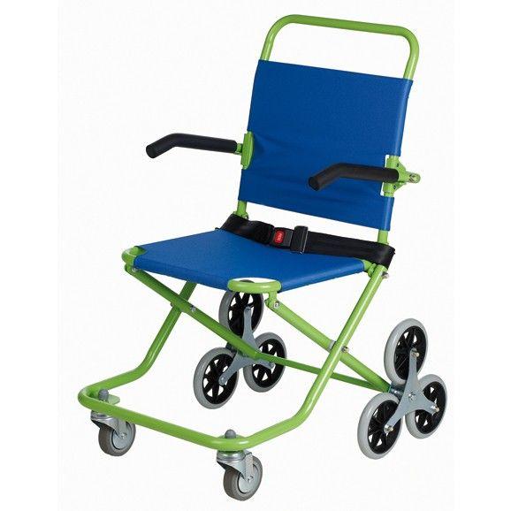 bajar escalera silla de ruedas