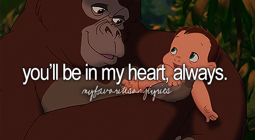 Image result for You'll Be in My Heart - Tarzan