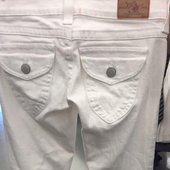 White jeans True religion jeans True Religion Jeans Boot Cut