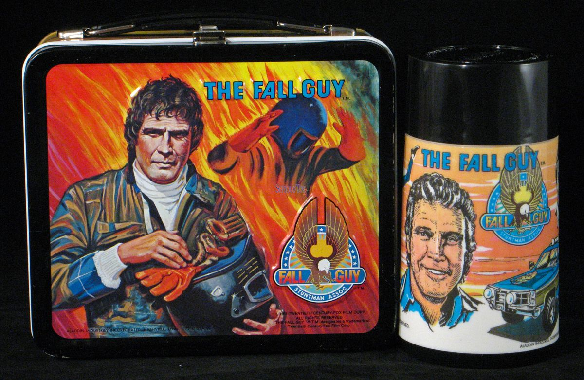 1981 The Fall Guy Lunch Box (With images) Lunch box