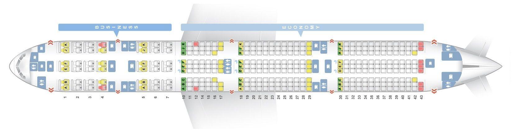 Qatar Airways Fleet Boeing 777 300er Details And Pictures