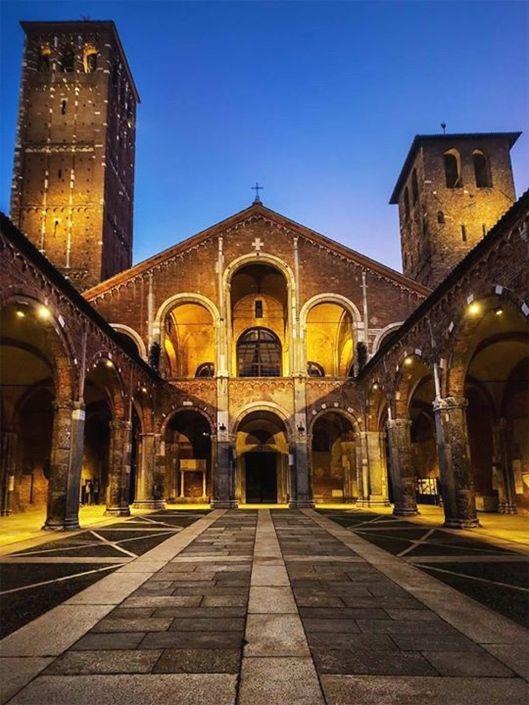 Basilica di sant 39 ambrogio milano milan milano la mia for Mobili lago milano