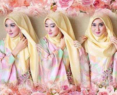 tutorial hijab pashmina untuk pesta ala dian pelangi hijab hijabtutorial hijabindonesia busanamuslim