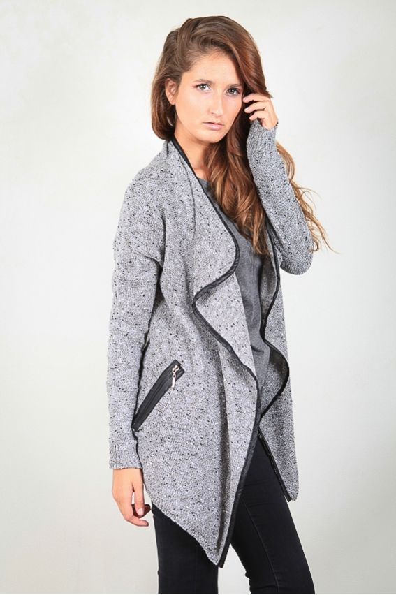 Veste femme gris chine