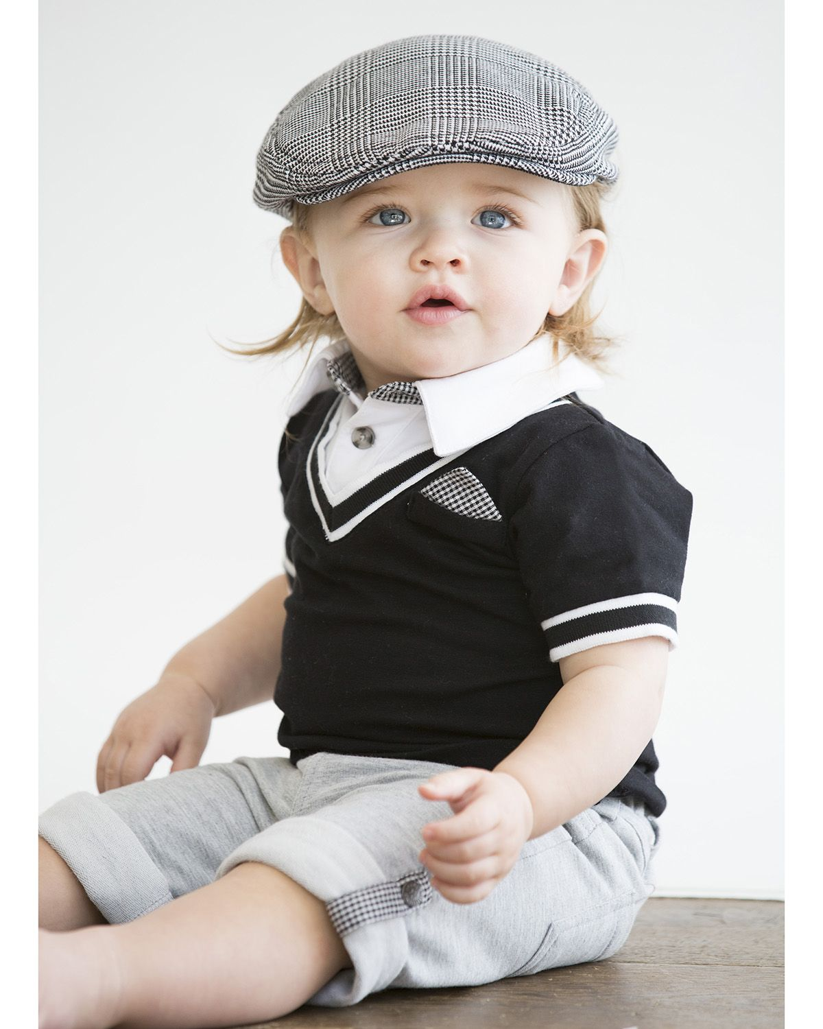 Wendy Bellissimo® Baby Boys' 2Piece Shirt And Pant Set