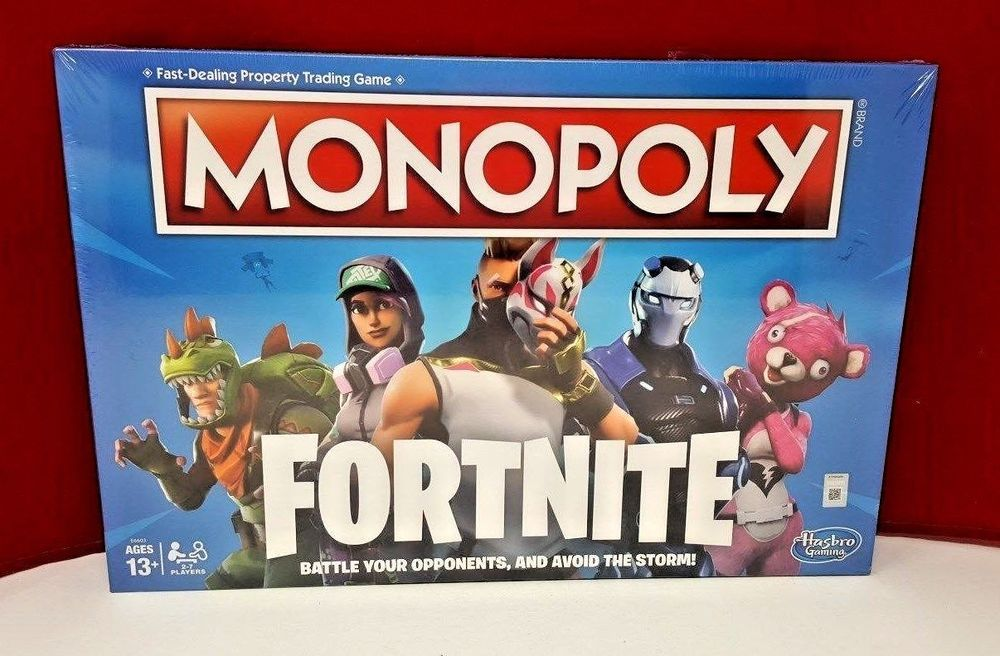 Monopoly Fortnite Edition Board Game Brand New Fortnite Monopoly