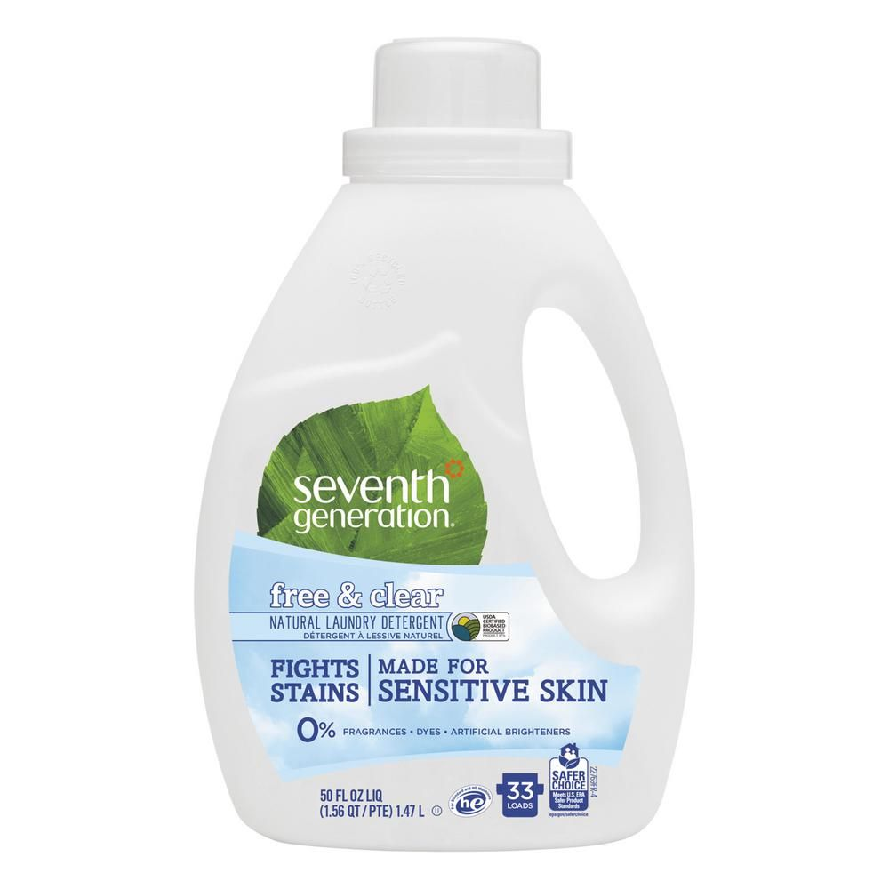 Seventh Generation 50 Oz Free And Clear Scent Natural 2x