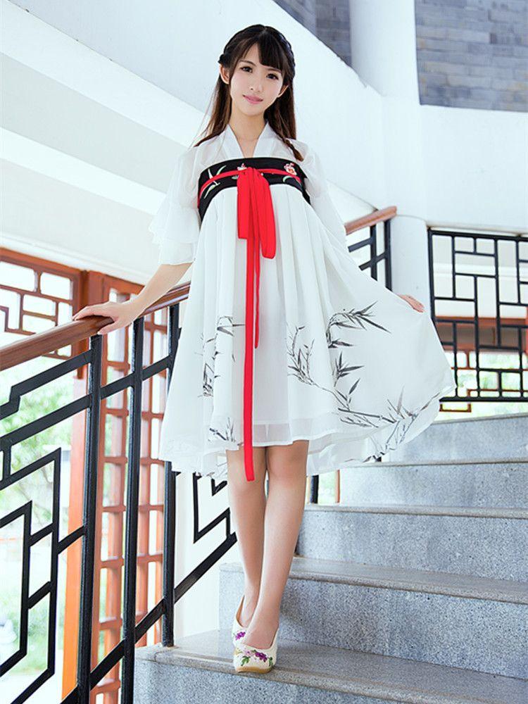b3007e465 Modernized Ruqun Hanfu, Cheongsam, Lolita Fashion, Ethnic Fashion, Womens  Fashion, Japanese