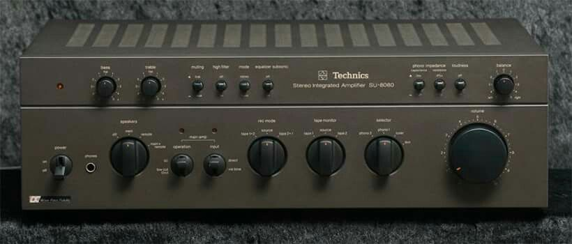 Vintage audio Technics SU-8080