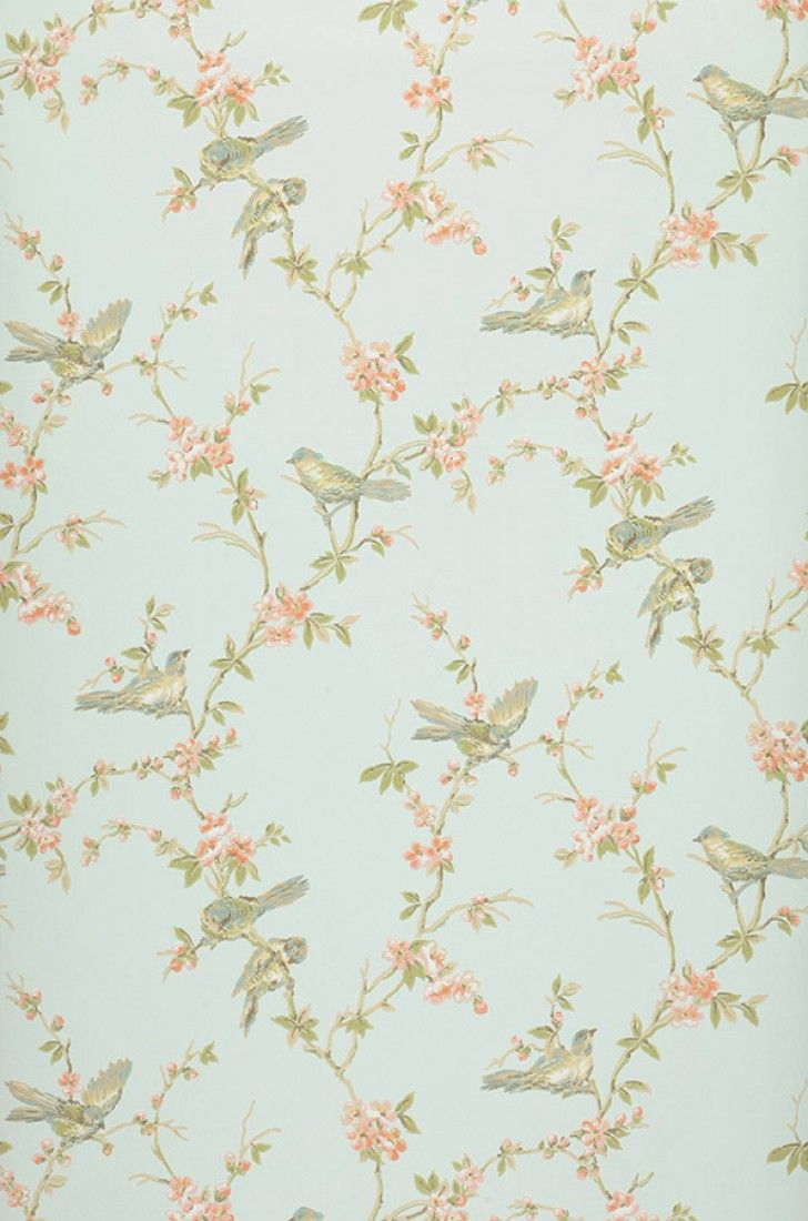 Thelma | Floral wallpaper | Wallpaper patterns | Wallpaper from the 70s