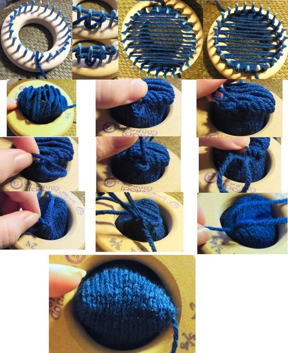 Loom Knitting Cast on Options