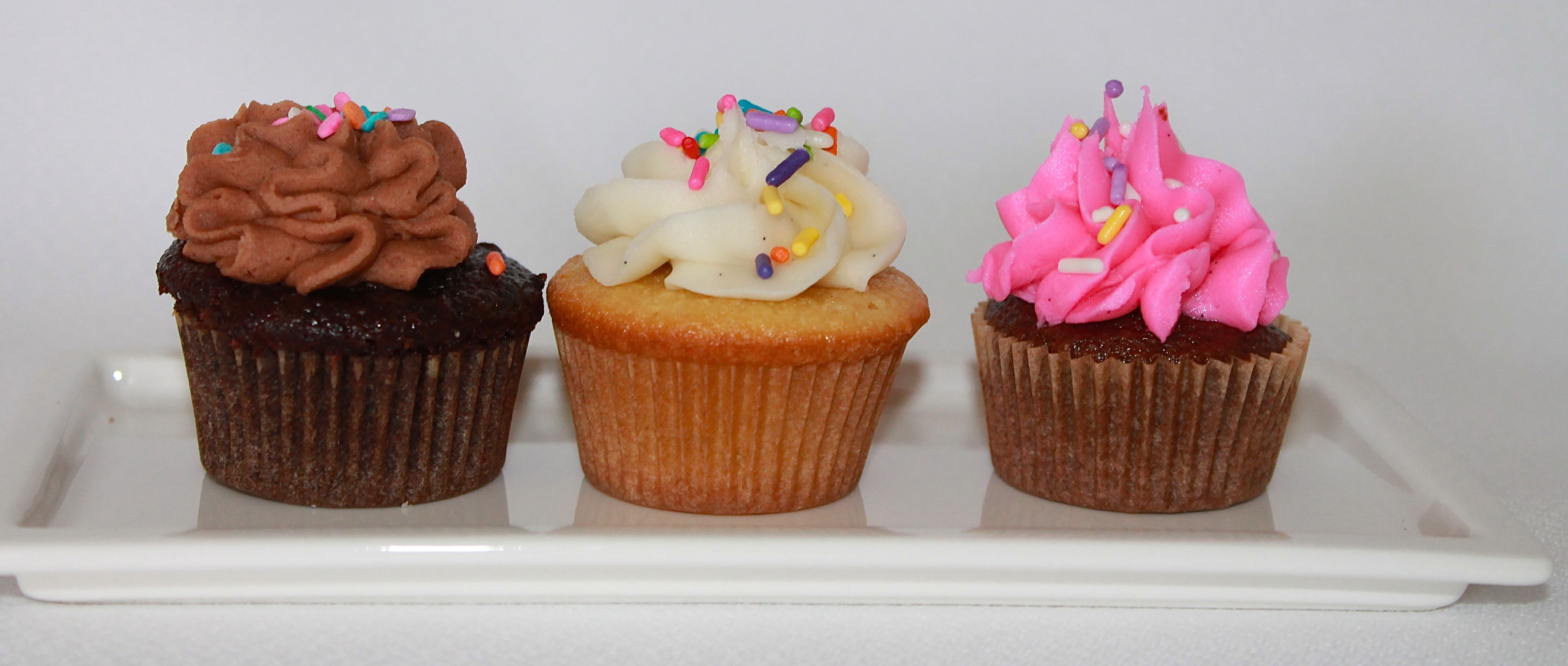 Our Mini GLUTEN FREE Cupcake one bite & you're hooked !