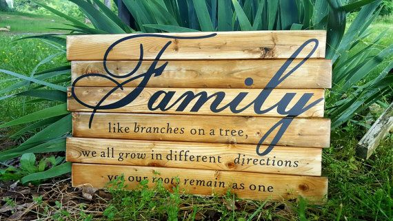 Rustic wood sign, Rustic wall decor, Distressed wood sign, Country ...