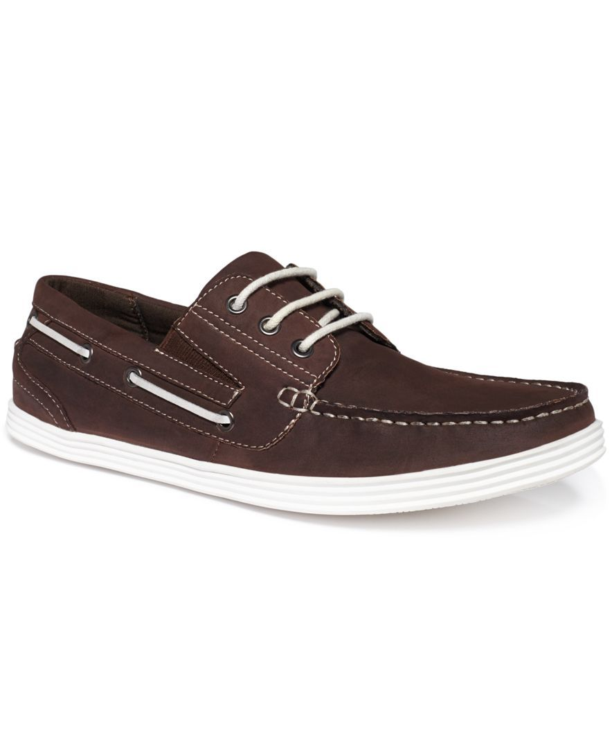 Unlisted A Kenneth Cole Production Boat-ing License Boat Shoes - All Men's  Shoes - Men - Macy's