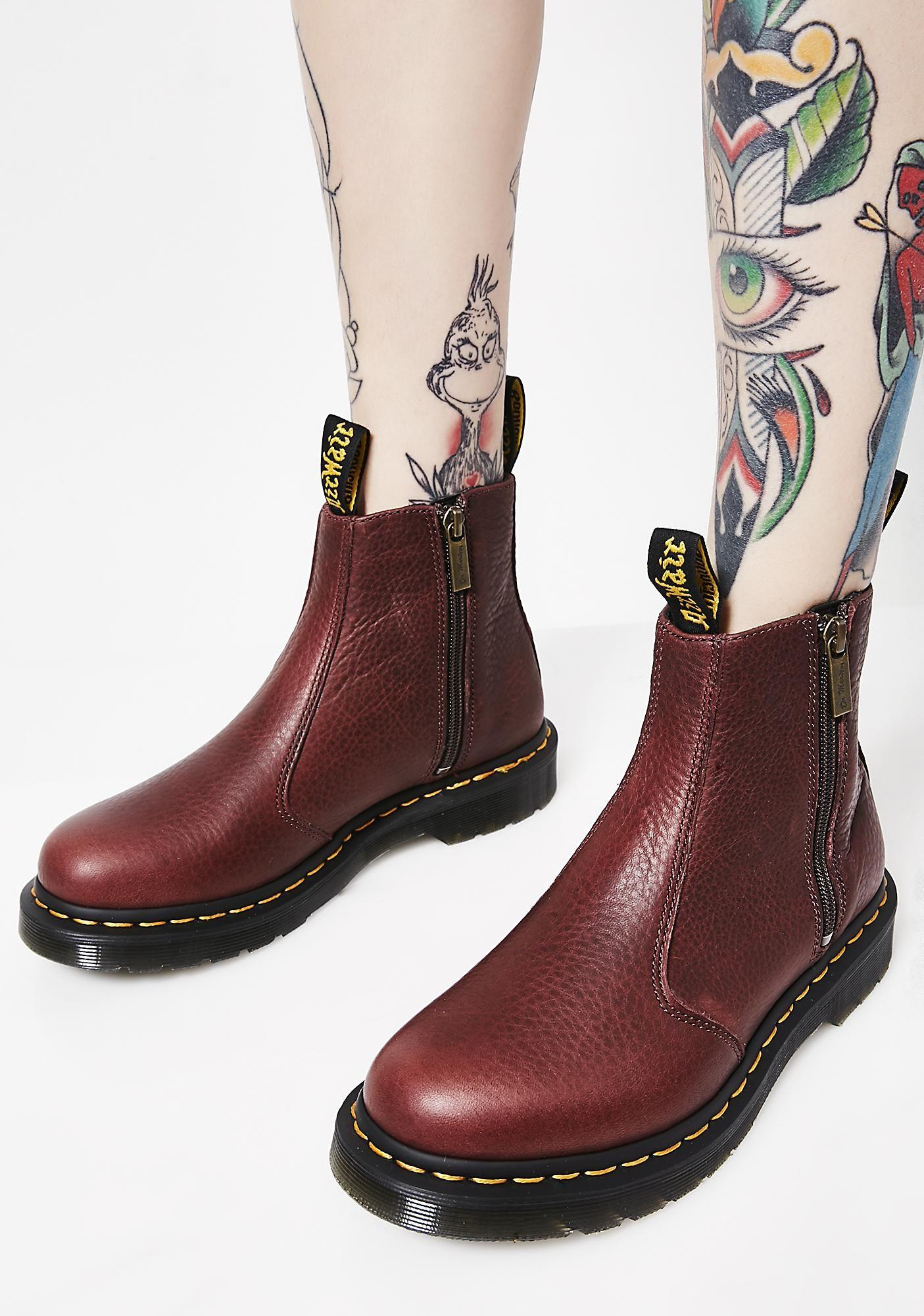 cb59d3541a40e Dr. Martens 2976 Zip Ankle Boots