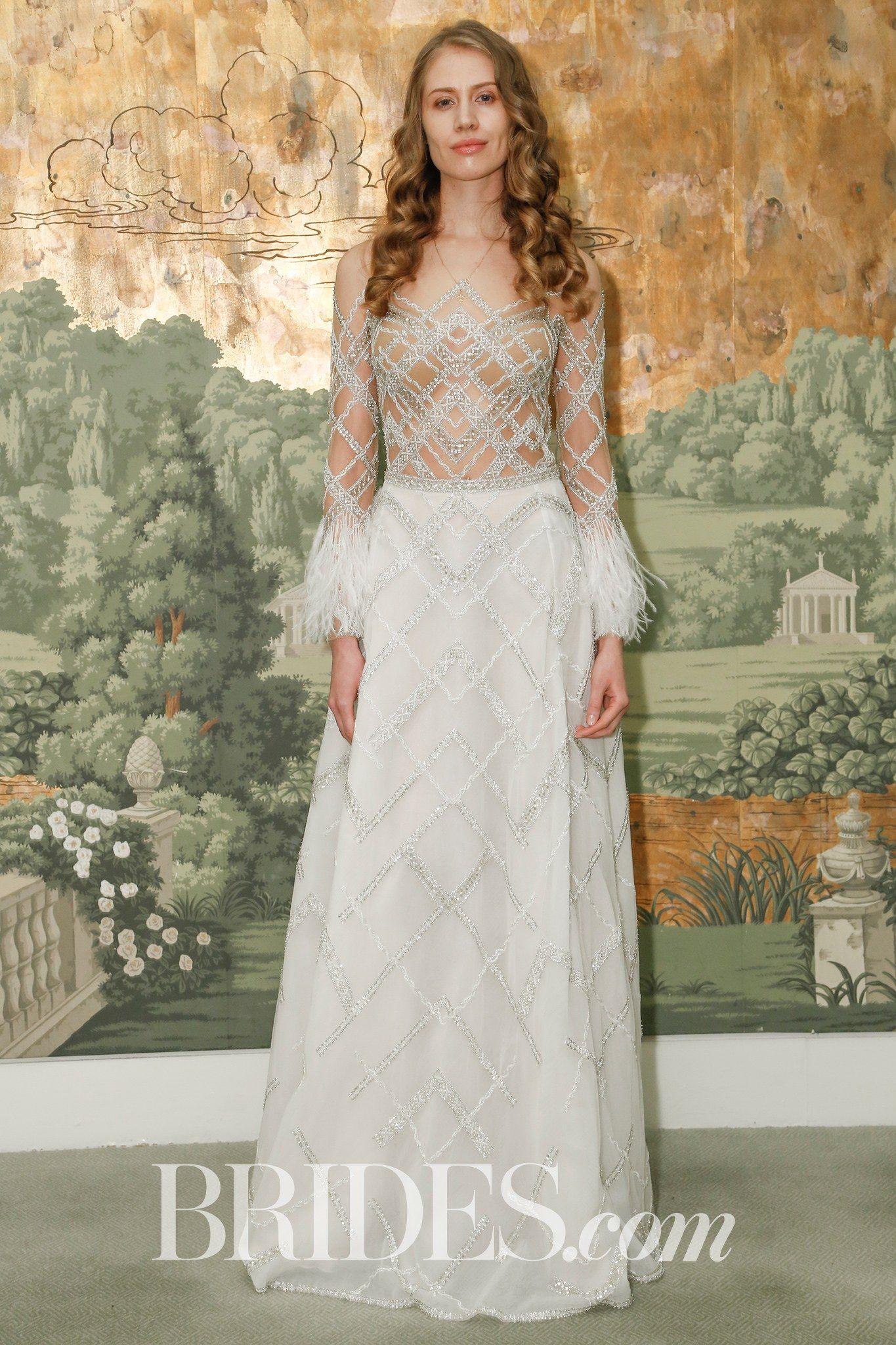 Silver Wedding Dresses 2018