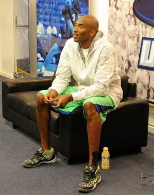 Nike Kobe 8 VIII Mid \u201cGraffiti\u201d Sneaker (Images)