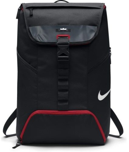 c4fdb27a7375a Nike LeBron Max Air Ambassador 2.0 Backpack Black/Red | Men Bags in ...