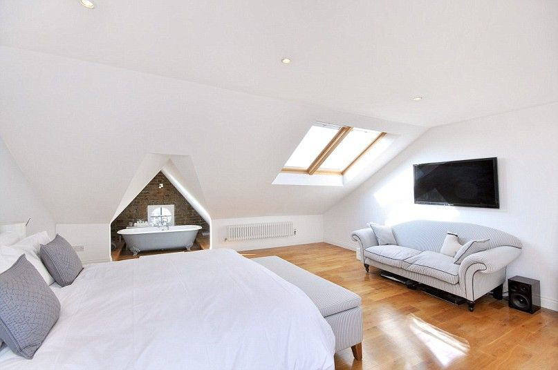 Ensuite Bathroom In Victorian House stylish london loft conversions for sale | lofts, attic and loft room