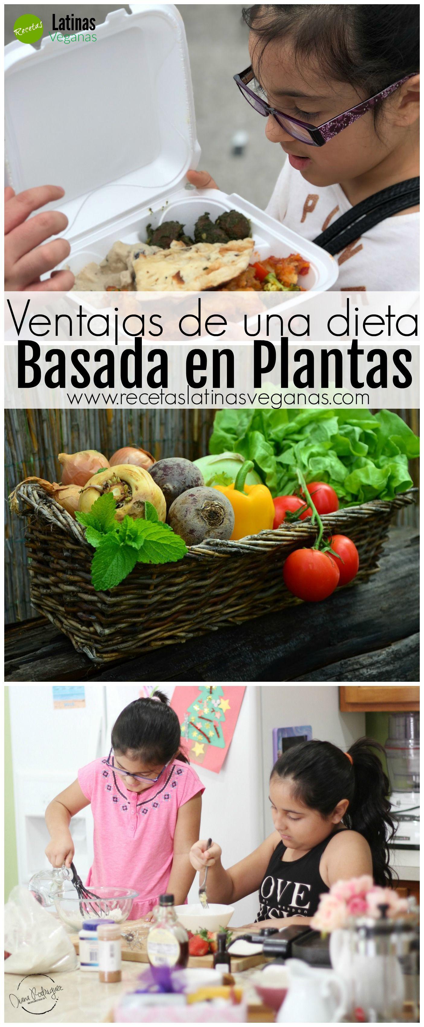 Ventajas de Una Dieta Basada en Plantas - Vegan recipes..